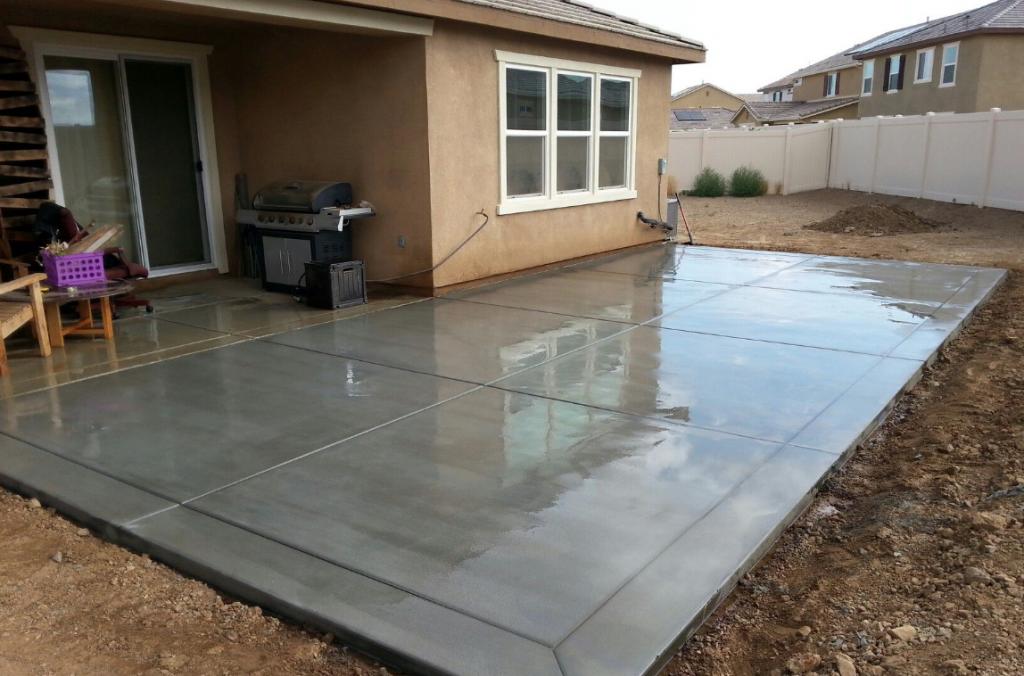 building concrete